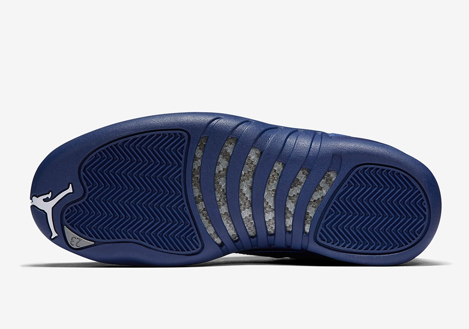 big sale 5a706 195c1 Air Jordan 12 Gs Blue Suede