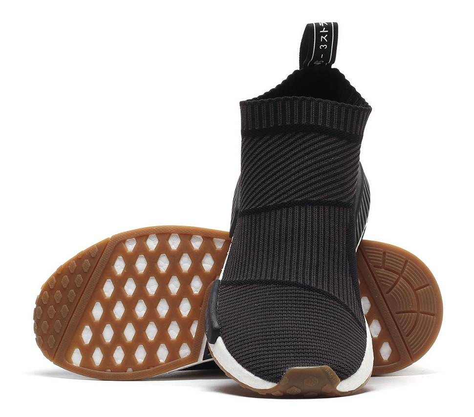BUY Adidas NMD City Sock Black Gum  82214d8f14fa