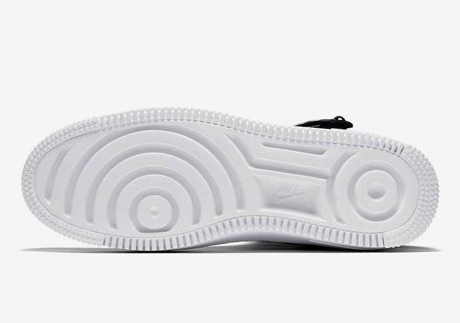 Nike Wmns Air Force 1 Sage High Black White