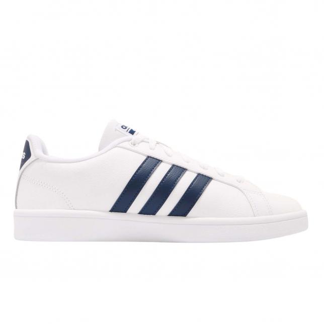 Adidas Cloudfoam Advantage White Navy