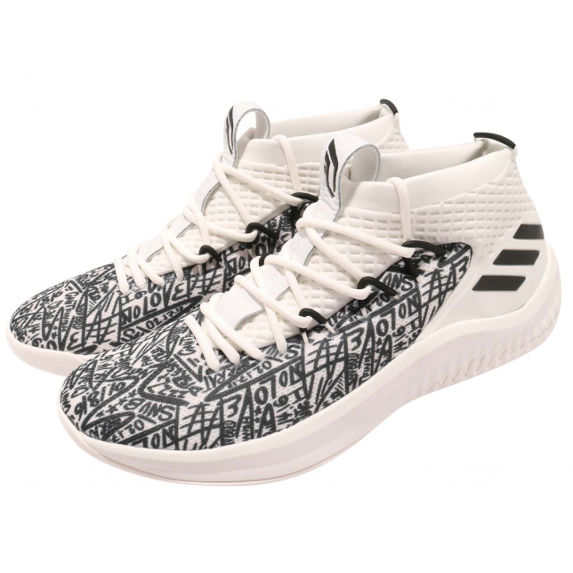 Adidas Dame 4 Cloud White Crystal White