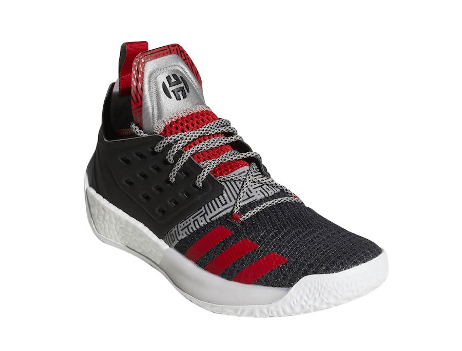 adidas Harden Vol 2 Black Red - KicksOnFire