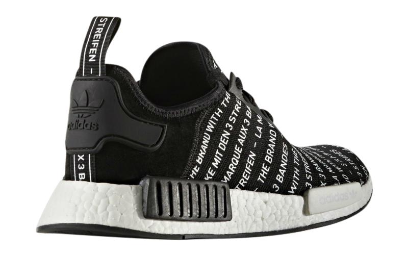 Adidas Nmd Blackout/whiteout - Black