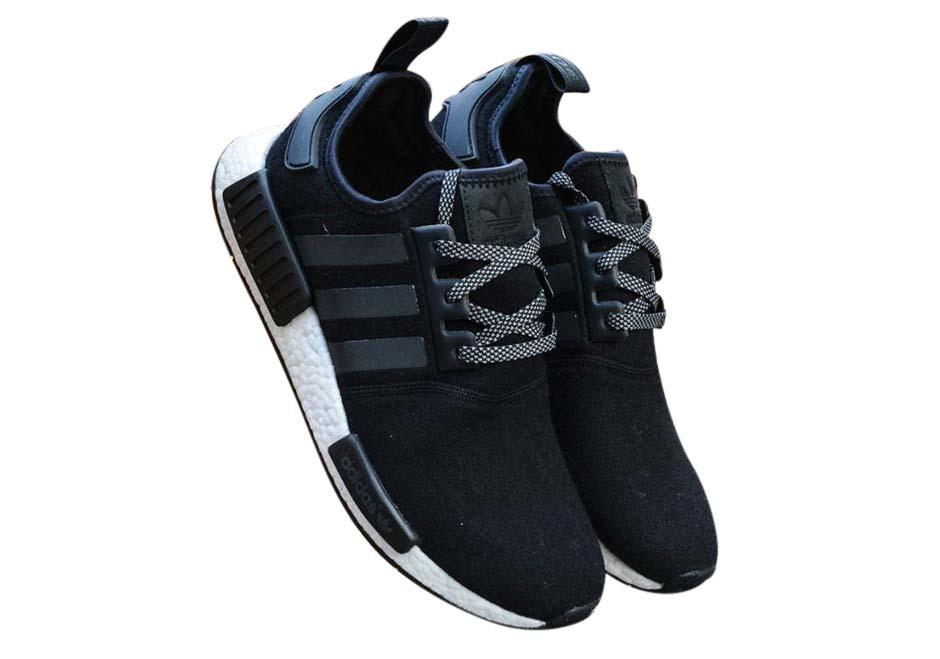 adidas NMD R1 Black Wool - KicksOnFire