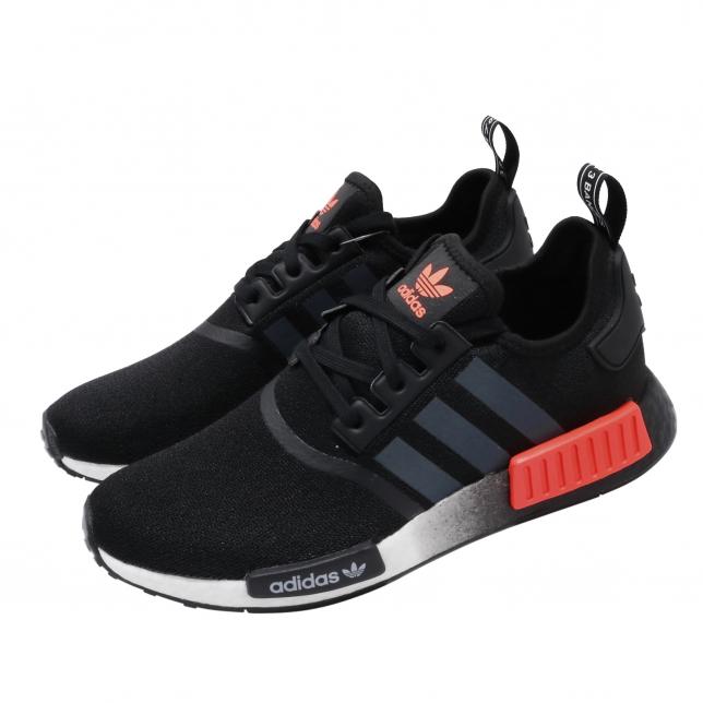 BUY Adidas NMD R1 Core Black Solar