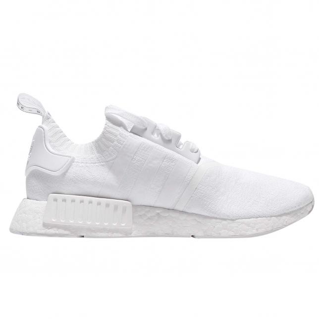 Buy Adidas Nmd R1 Primeknit Japan Triple White Kixify Marketplace