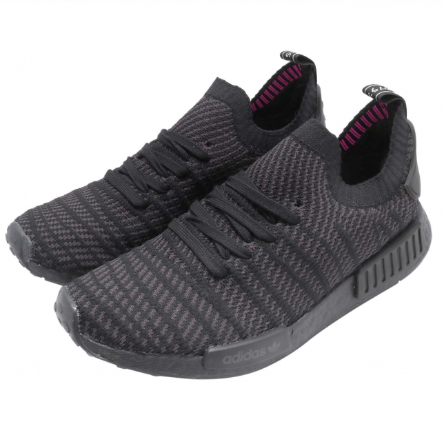 Buy Adidas Nmd R1 Primeknit Stlt Triple Black Kixify Marketplace
