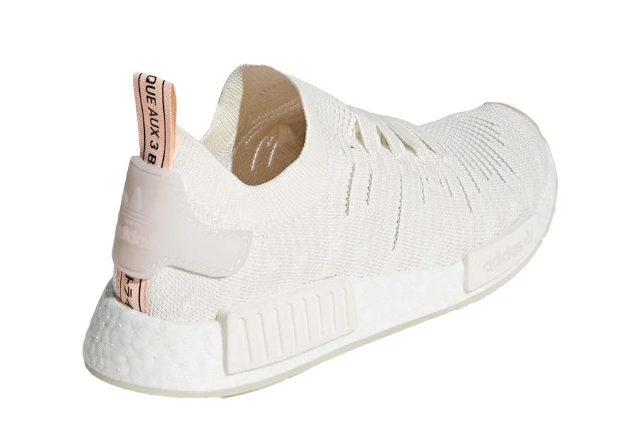 Buy Adidas Nmd R1 Stlt Running White Clear Orange Kixify Marketplace