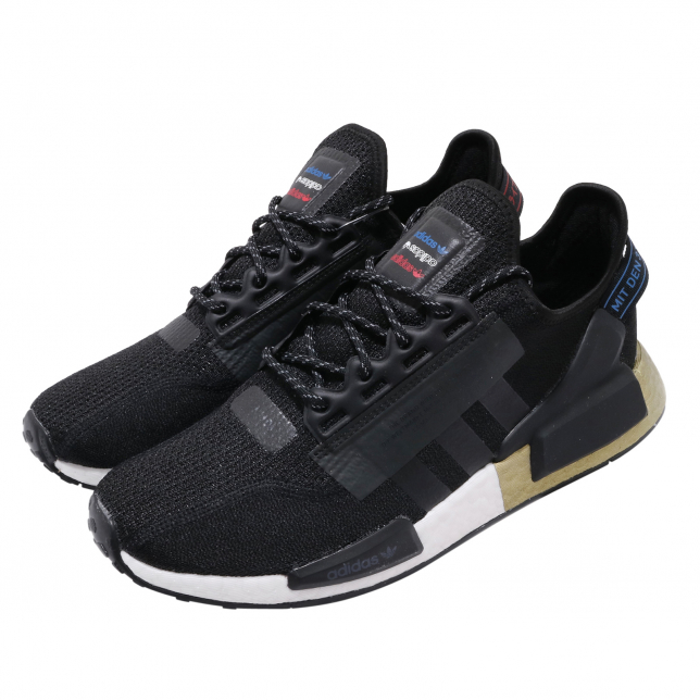 Buy Adidas Nmd R1 V2 Core Black Gold Metallic Kixify Marketplace
