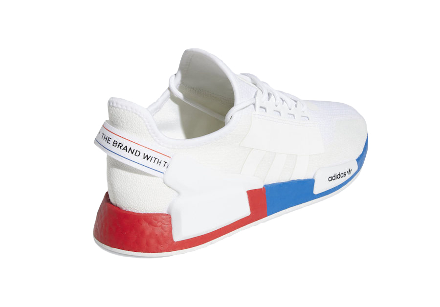 Buy Adidas Nmd R1 V2 White Red Blue Kixify Marketplace