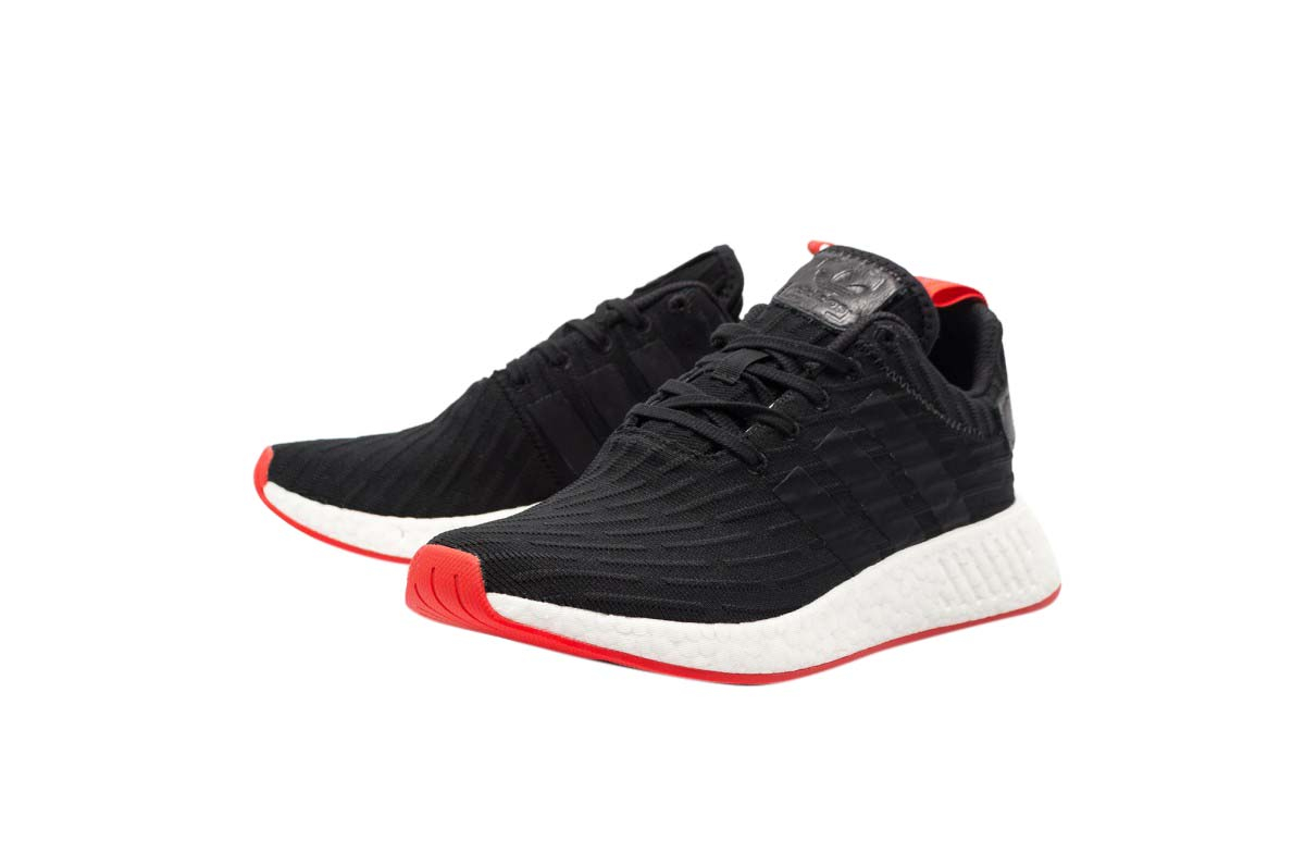 Buy Adidas Nmd R2 Core Black Red Kixify Marketplace