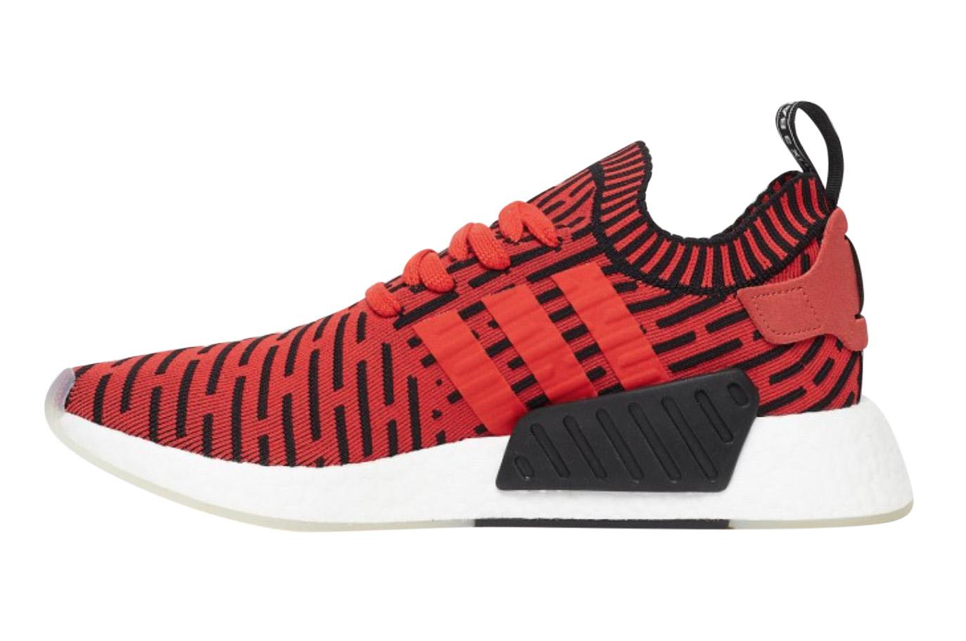 adidas NMD R2 Core Red Black - KicksOnFire