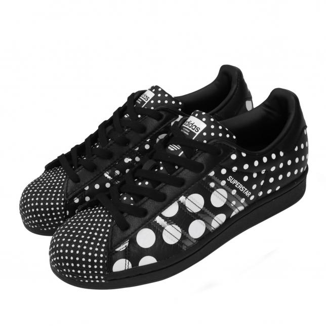 BUY Adidas Superstar Polka Dots Black