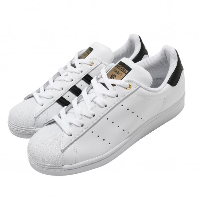Adidas Superstar Stan Smith Footwear White Core Black Gold Metallic