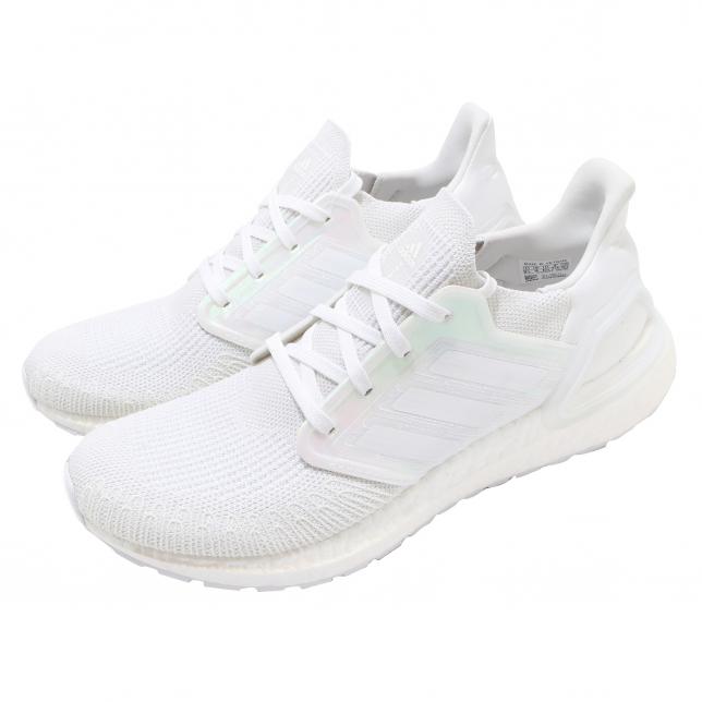 Adidas Ultra Boost 2020 Cloud White Core Black