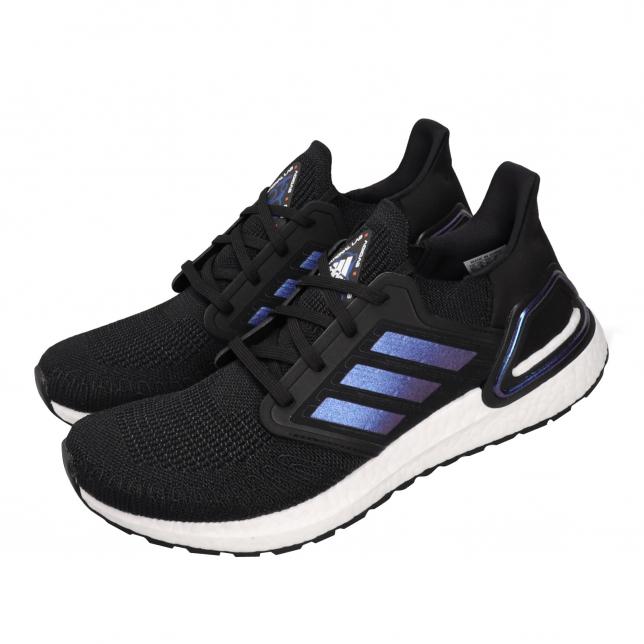 adidas Ultra Boost 2020 Core Black Blue