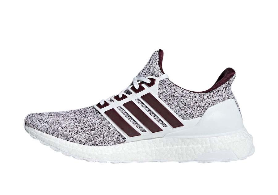 ultra boost 4.0 white burgundy