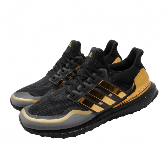 BUY Adidas Ultra Boost Core Black Gold