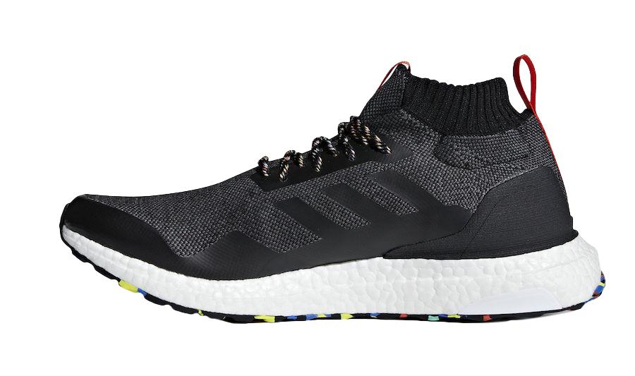 Adidas Ultra Boost Mid Black Multicolor