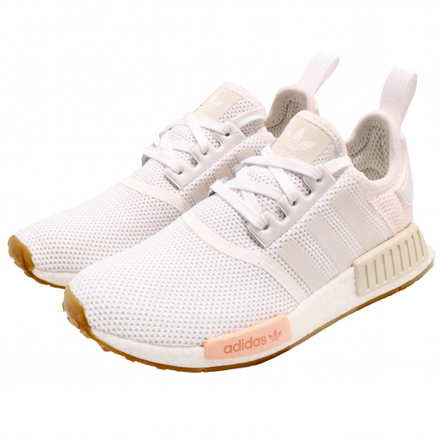 Buy Adidas Wmns Nmd R1 Cloud White Clear Orange Kixify Marketplace