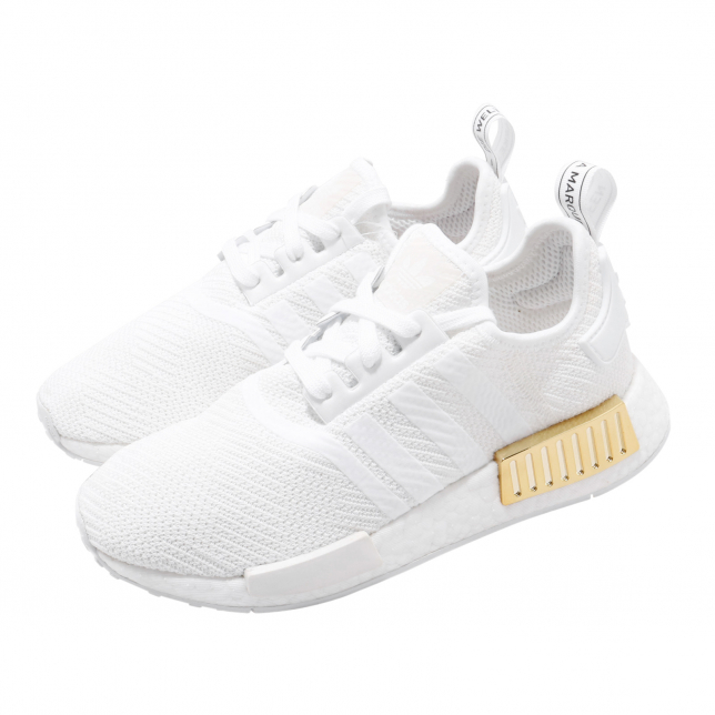 adidas nmd r1 white rose gold