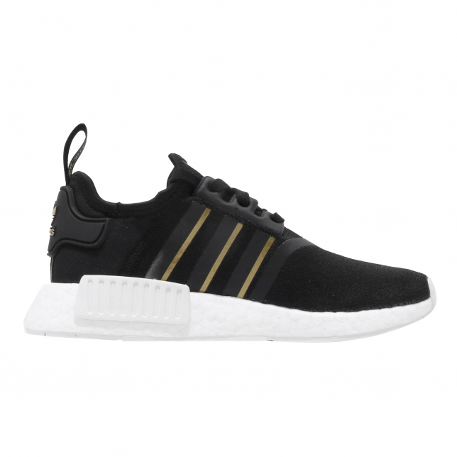 adidas nmd r1 black and gold