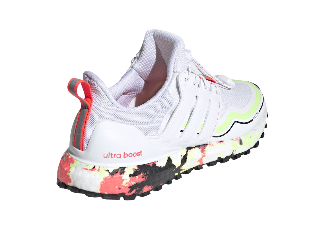 Adidas Wmns Ultra Boost Winter.rdy Cloud White Signal Pink