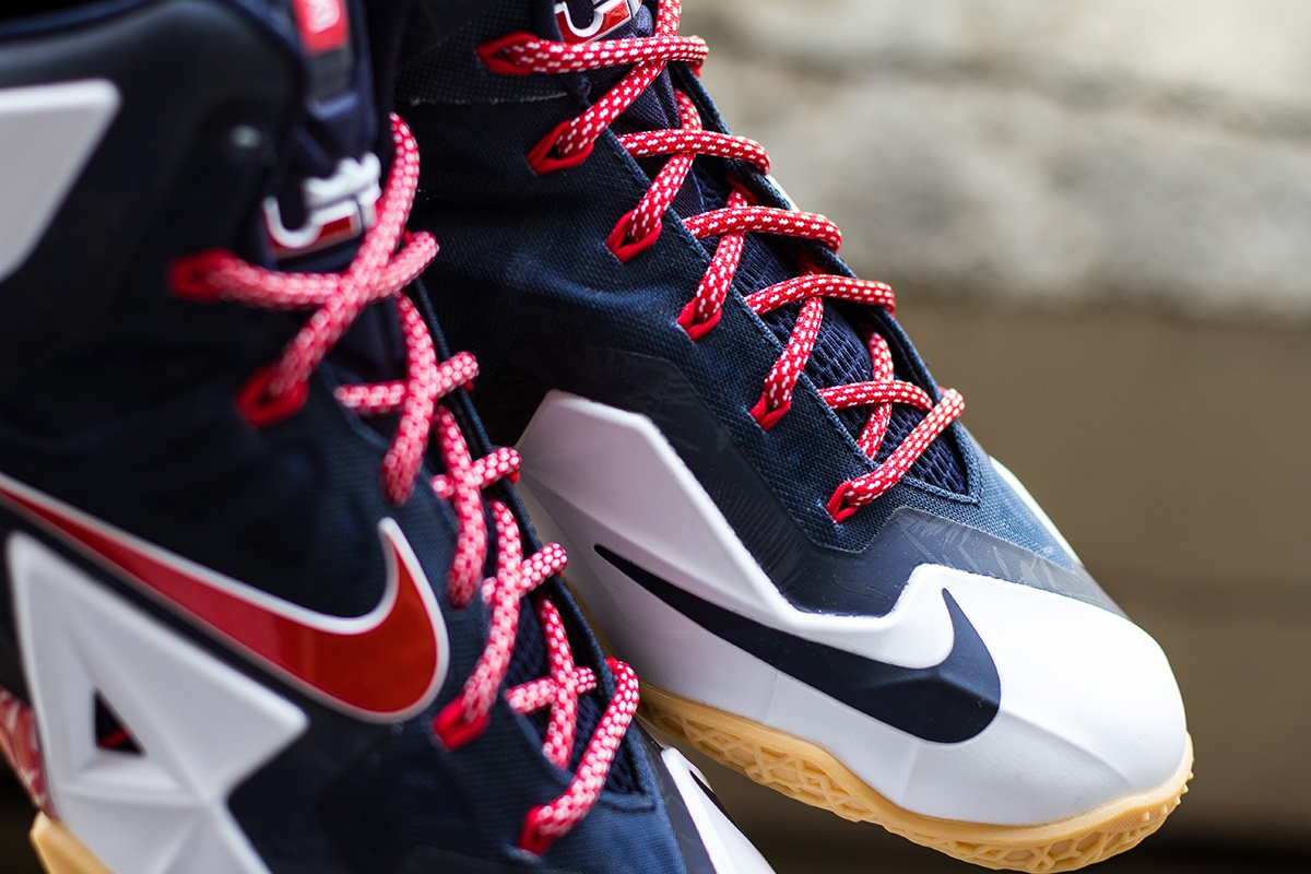 lowest price 8a169 466d6 Nike Lebron 11 Independence Day