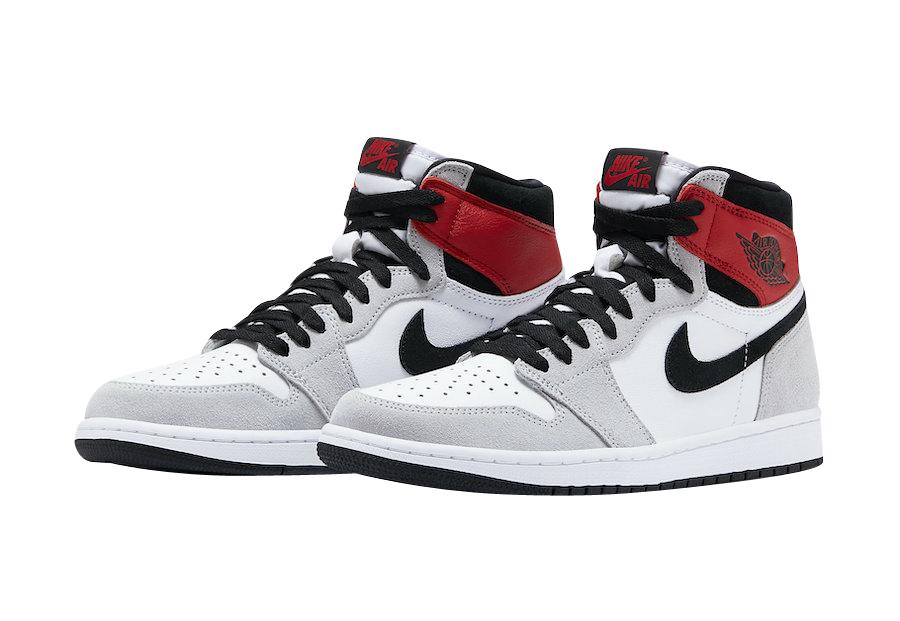 Air Jordan 1 High Og Light Smoke Grey