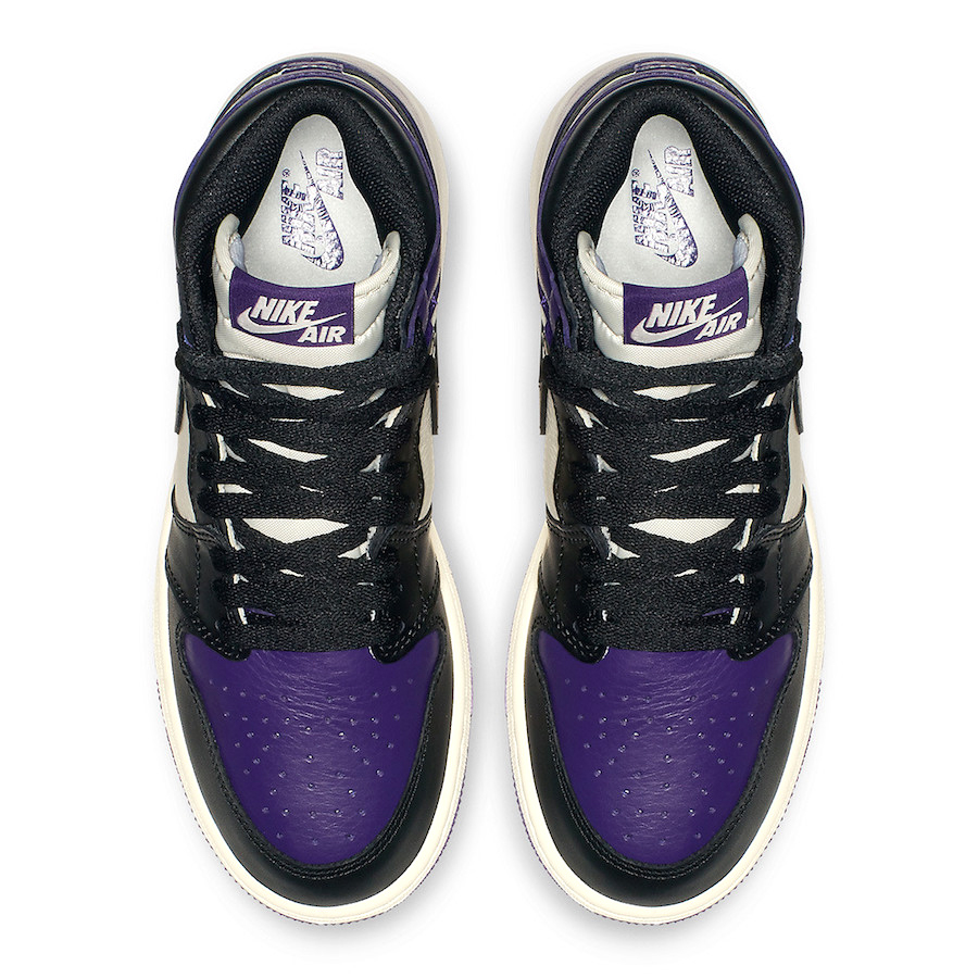 raqueta eficiencia Arena  BUY Air Jordan 1 Retro High OG GS Court Purple | Europabio Marketplace