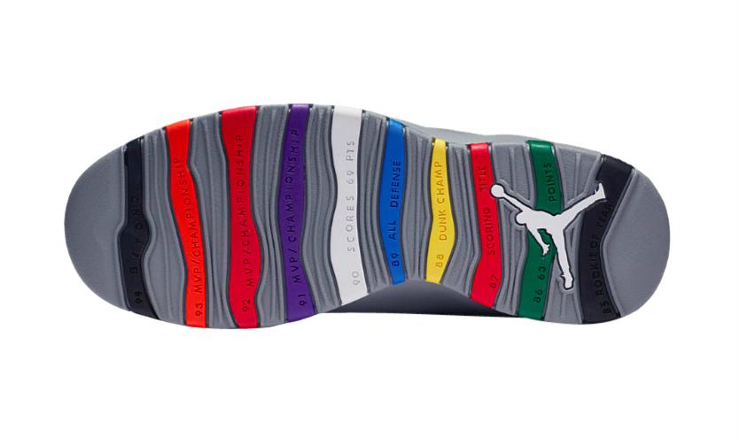 Air Jordan 10 Retro 'Cool Grey' 2018