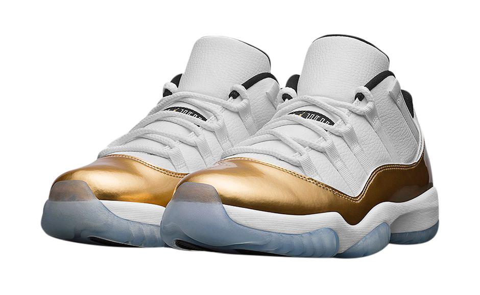 all gold 11 jordans
