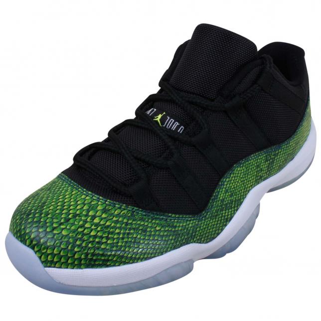 BUY Air Jordan 11 Low - Green Snakeskin