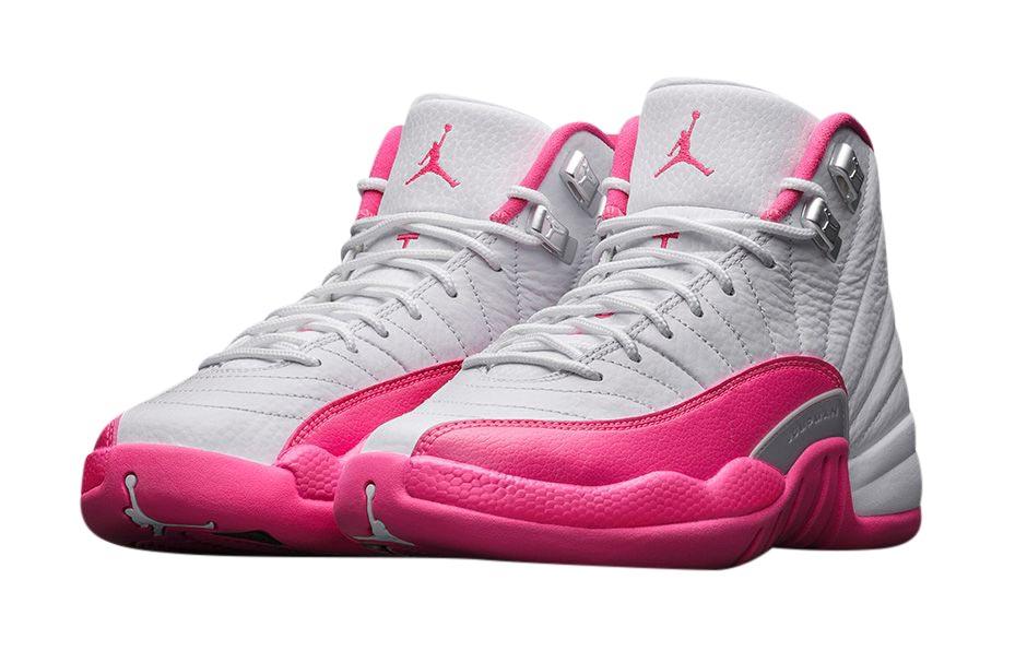 BUY Air Jordan 12 GS - Vivid Pink