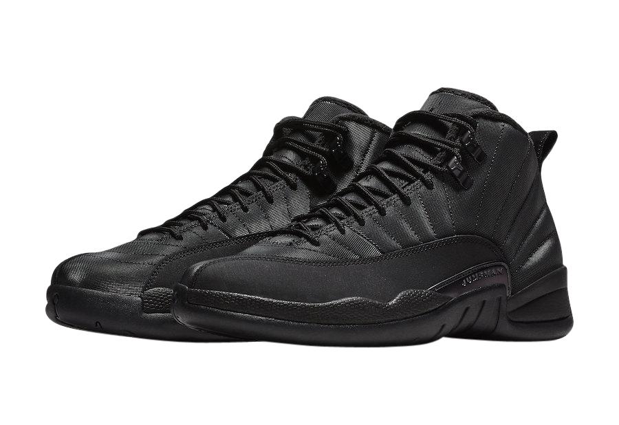 BUY Air Jordan 12 Winterized Black