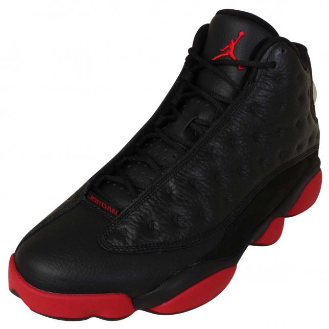 BUY Air Jordan 13 - Black / Gym Red