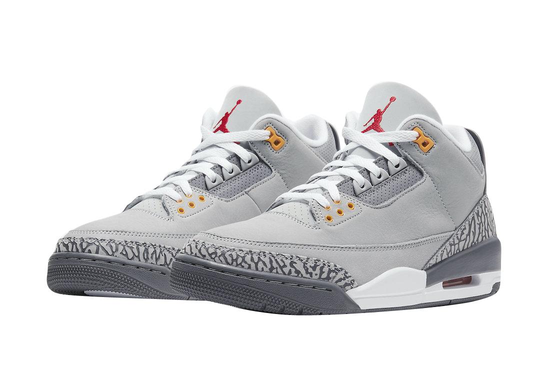 Air Jordan 3 Cool Grey 2021