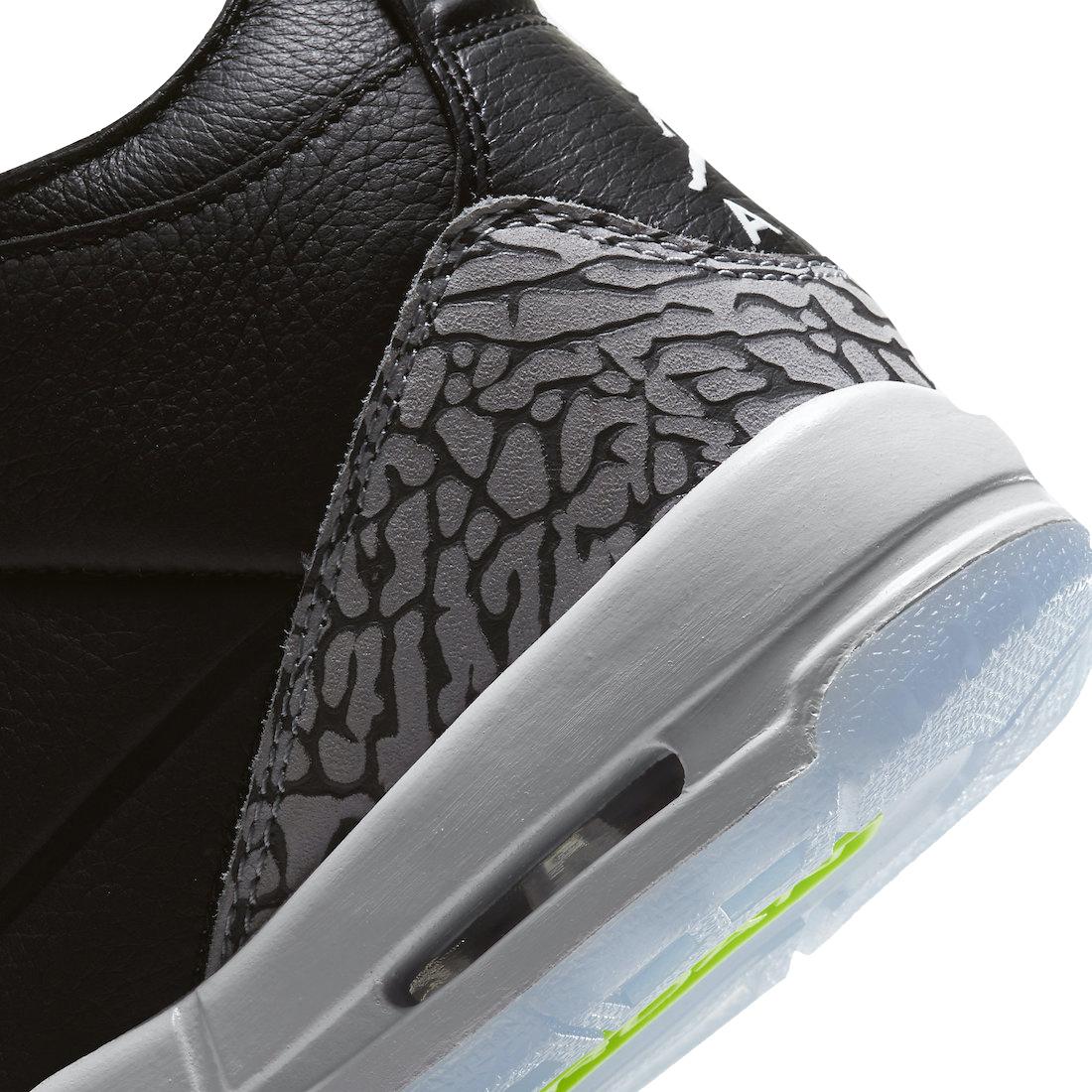Air Jordan 3 Gs Electric Green