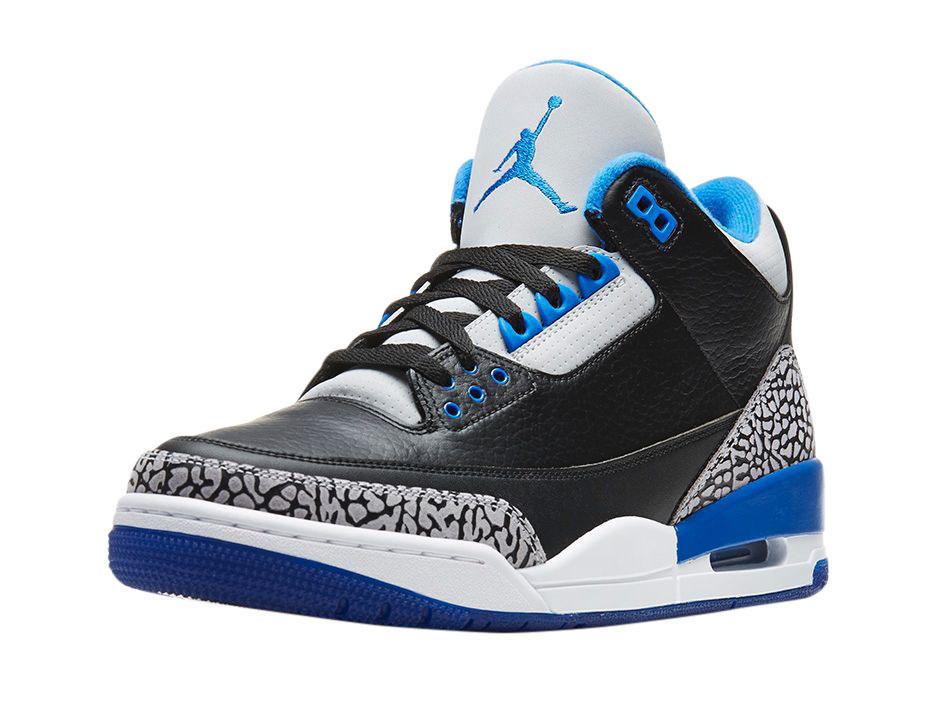 BUY Air Jordan 3 GS Sport Blue | Kixify
