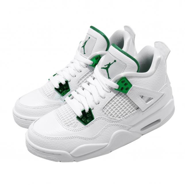 Air Jordan 4 GS Metallic Green