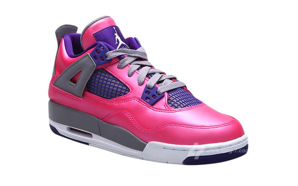BUY Air Jordan 4 GS - Pink Foil