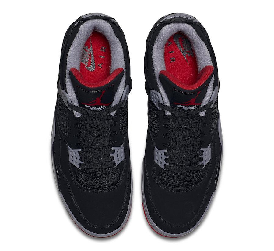 Air Jordan 4 OG Bred 2019 - Jordan Depot