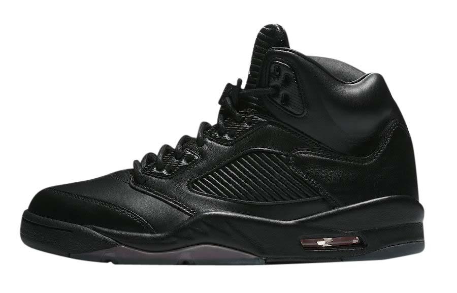 BUY Air Jordan 5 Premium Triple Black