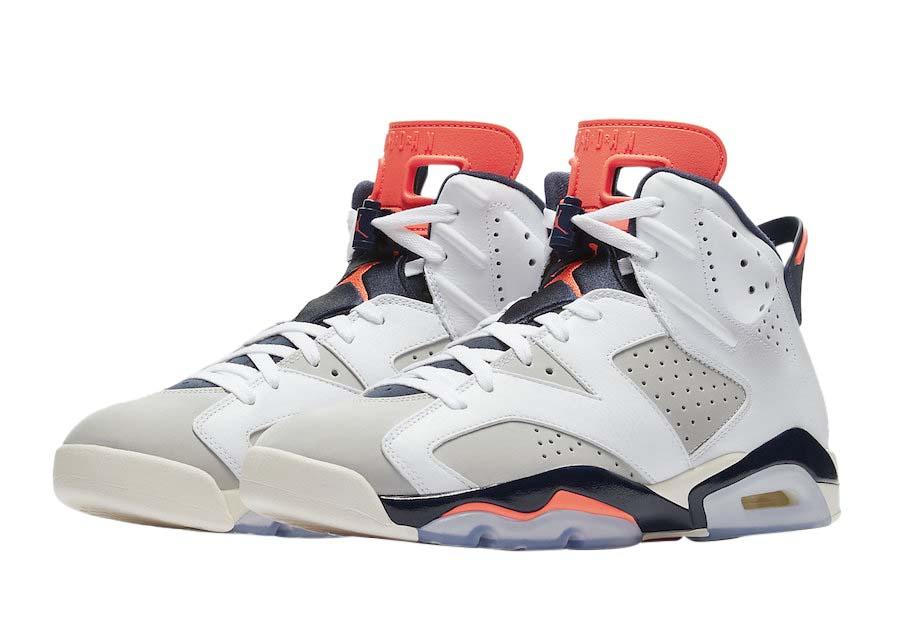 jordan 6s white and grey