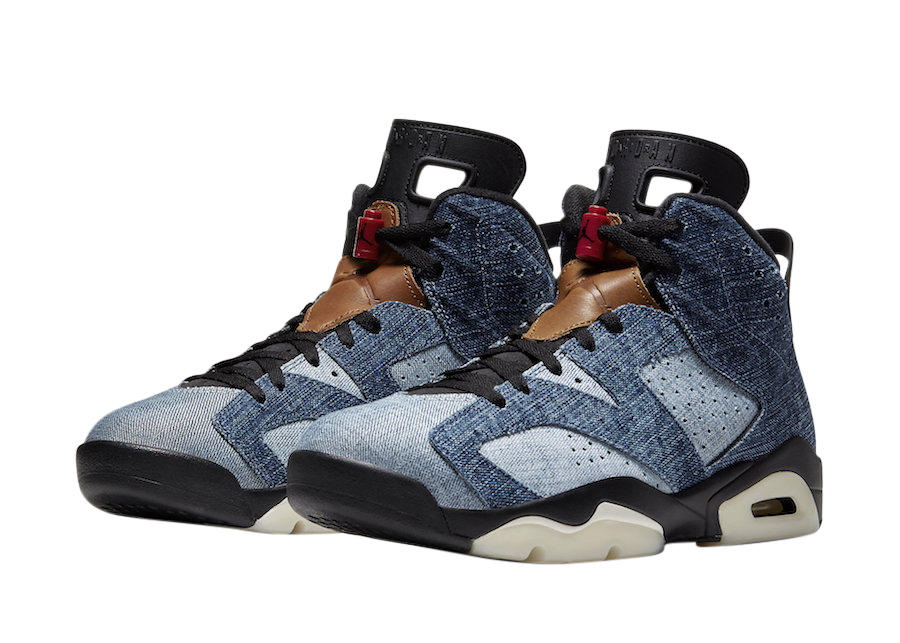 Air Jordan 6 Washed Denim