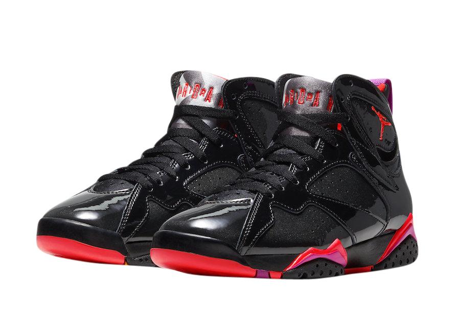 BUY Air Jordan 7 WMNS Black Patent
