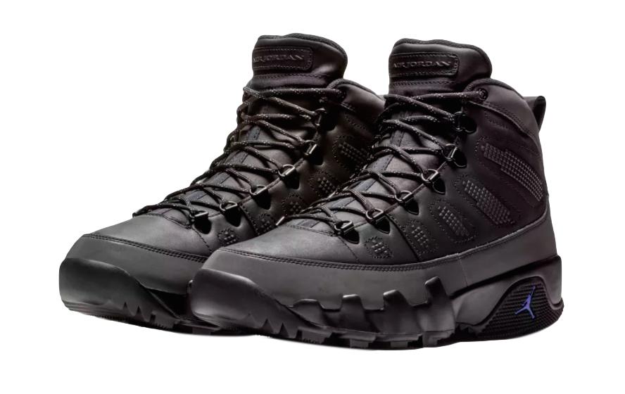 BUY Air Jordan 9 Boot Black Concord