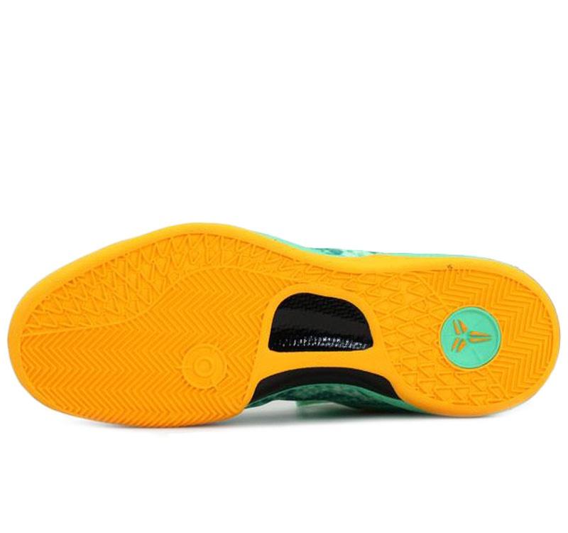87f5557963fb Nike Kobe 8 - Green Glow. Green Glow   Laser Orange - Mineral Teal.