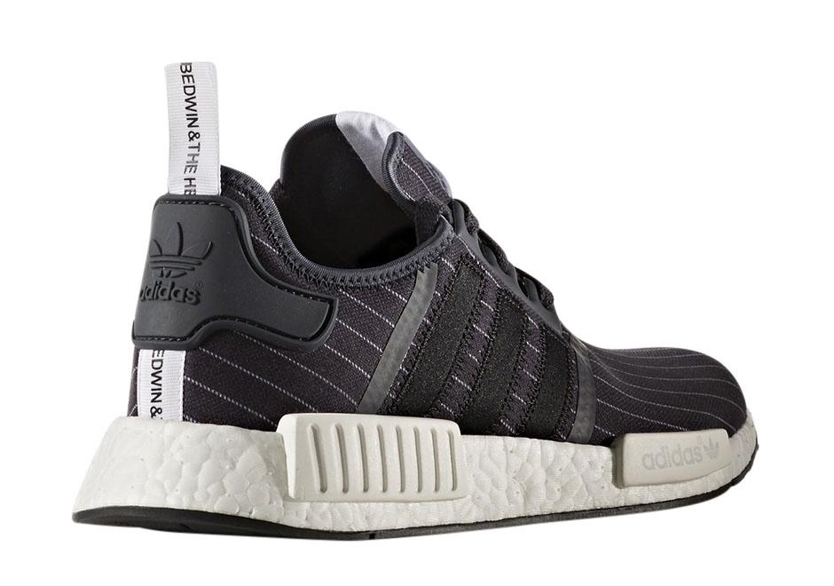 Heartbreakers X Adidas NMD R1 Black