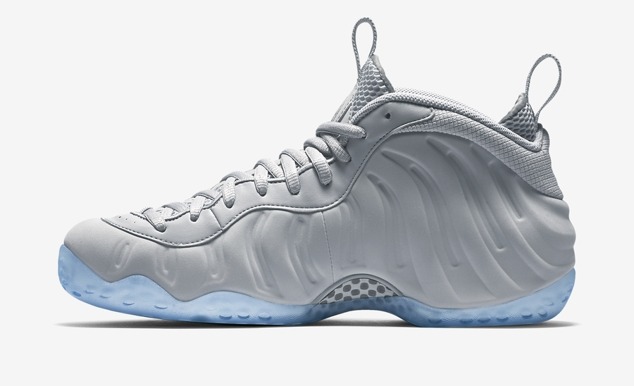 factory authentic 11783 bbefd Nike Air Foamposite One PRM - Wolf Grey